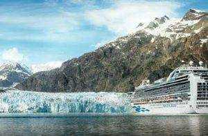 Hubbard Glacier on the Alaska Land and Sea Tour